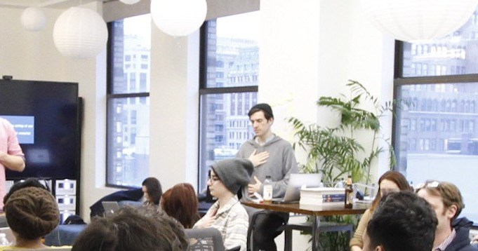 Breathwork and mindfulness in NYC offices since 2016 by Hannes Bend